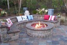 bon fire seating
