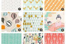Fabulous fabrics! / Sew, sew, sew!