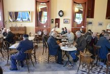 Greek Traditional coffee place / Ελληνικά παραδοσιακά Καφενεία