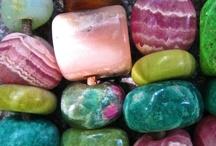 korále,šperky,kamínky,nápady........