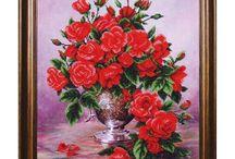 Flowers Bead Emroidery Kits