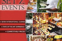SET'Z Events / You also have the option of allowing SET'Z to cater it's seven cuisines to various events such as Corporate events, Weddings, Product Launches, Store Launches and fashion shows and more!  For further queries, you may contact us on 9911360602 (Tushar) or 9953619999 (Kaushik)  ‪#‎DLFEmporio‬