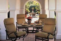 Tropitone / 100% customizable aluminum outdoor furniture.