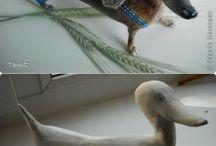 Keramika pes zviera