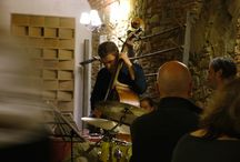 Music at Fattoria di Pietrabuona / We love every kind of music and we like organizing concerts at Fattoria di Pietrabuona. Our cellar is a beautiful location but in the garden too or around the pool.