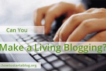 Make Money Blogging $$$ / Ideas for making money with a blog