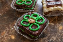 St. Patrick's Day / Fun St. Patrick's Day brownies and related miscellany. Hope you're wearing green or you might get pinched!