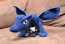 knitted dragons