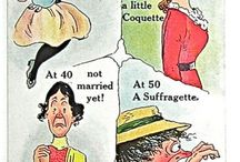 anti-suffragette posters