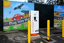 Electric Vehicle Charger Station / Our Electric Vehicle Charger Station is FREE to everyone. You don't have to be a patron of the L.A. Zoo to use it.