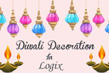 Diwali Decoration in Logix Shapers