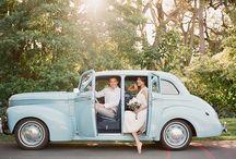 Vintage pre-wedding