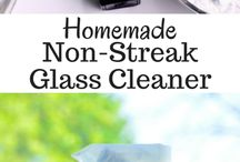 Cleaning with essential oils / Glass cleaner