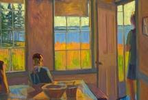 Louise Bourne / Painter  / by Carolina Ellis