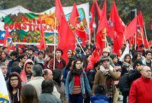 Protestas Chile / Protestas colectivas en Chile