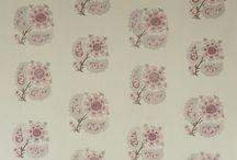 Girls room fabrics