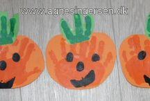 Stenlille private dagpleje - kreativ / Egne ideer fra min blog vi har lavet i dagplejen  www.agnesingersen.dk