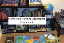 Histoire géographie / Ressources pour apprendre l'Histoire et la géographie en maternelle et primaire