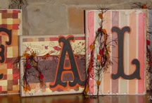 Fall decor and craft projects / by Hope Ashford- Corona