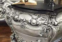 Milk Paint / General Finishes, Milk Paint, Painted Furniture, Vintage Furniture, Rococo