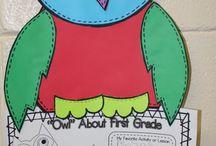 Owl Crafts/Ideas / by Julie Cryer-Newburn