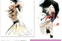 Fashion Illustrations / by The Silver Kick Diaries