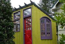Gartenhaus und Tiny house