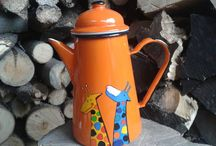 ENAMEL COFFEE POTS / Enamel Coffee Pots