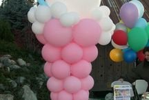 Summer time balloon ideas
