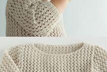 Knitted garmets