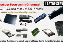Laptop Spares in Chennai / We offer Genuine Laptop Accessories and Laptop Spare Parts ( adapter, battery, keypad, screen, motherboard and more) for all branded laptops.. www.laptopserviceatgbs.in