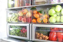 Kühlschrank-Organisation