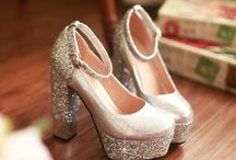 • ♡ wedding: shoes • / Shoes adding to that magnificent day!