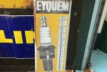 OLD GARAGE ADVERTISING THERMOMETERS / Visit our website to see our full range of automobilia. Stock changes regularly, so check back for new products: http://mattsautomobilia.co.uk/new