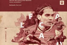 Uniteeds - an Orkha project / Graphic design experiment capturing MUFC dynamic.