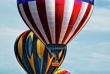 Up, up and away in my beautiful balloon!
