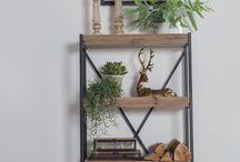 Metal & Wood / Furniture by metal and wood