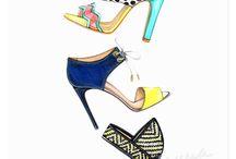 Sapatos croqui