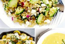 Best Summer Recipes / Easy to make summer recipes. Ready in 30 minutes or less and not too many ingredients.
