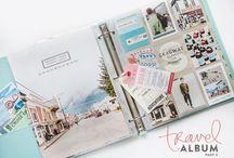 Cestovateľský album, zápisník, denník / Aj vy máte plno vzácností z dovoleniek? Mušličky, pohľadnice, letáky z výstav, či napríklad vzorky z ochutnaných čajov, piesok z pláže, kde ste sa slnili....?? V tomto albume nájdete inšpirácie na kreatívne a jedinečné cestovateľské denníky. Vytvorte si aj vy nezabudnuteľný album, kde vašim cennostiam dáte zvláštne miesto :) Spomienky vám nikdy nevprchajú.