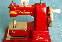 Retro sewing gear