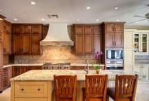 Beautiful Kitchens / Dream kitchens, kitchen interior design, #KitchenIdeas In Scottsdale, AZ, contact us for custom kitchen renovations. We've got your dream kitchen! http://www.caineandcompany.com/