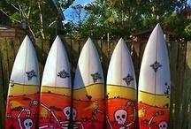 Surfboard Art / Surfboard art and design / by Robert Gilbert