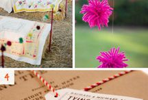 themed wedding: yarn & wool