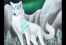 Wolf a magic