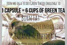 Tegren - unique green tea tablets