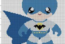 Batman I Perler