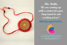 Rakhi Campaign #bhaiyougotmethis / This Rakhi, www.makemywishes.com has come up with #bhaiyougotmethis contest where we will be asking you a quirky question and you can answer it with all the peppy answers. Participate and invite your friends as well and let's get the fun started.  Visit our FB page: https://www.facebook.com/MAKEMYWISHES/?ref=aymt_homepage_panel  Read T&C here: https://www.facebook.com/notes/makemywishes/rules-for-fun/489161421288201