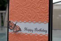 Birthday Cards / Stamping Ideas / by Julie Rehnberg
