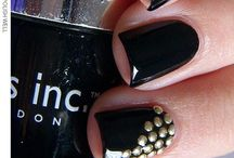 Nailart using my studs I have